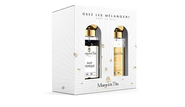 Margot & Tita - Caja de regalo para mezclar - Estuche de 2 Eaux de Parfum de 30 ml.: Amazon.es: Belleza