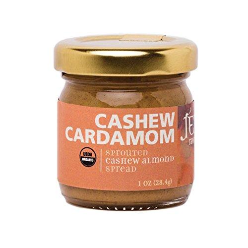 Jem Raw,Vegan, Organic Cashew Cardamon Butter Spread 1 oz Review