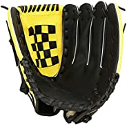 Rehomy Baseball Glove, PU Leather Baseball Fielders Practicing Training Competition Gloves for Beginner Kids,