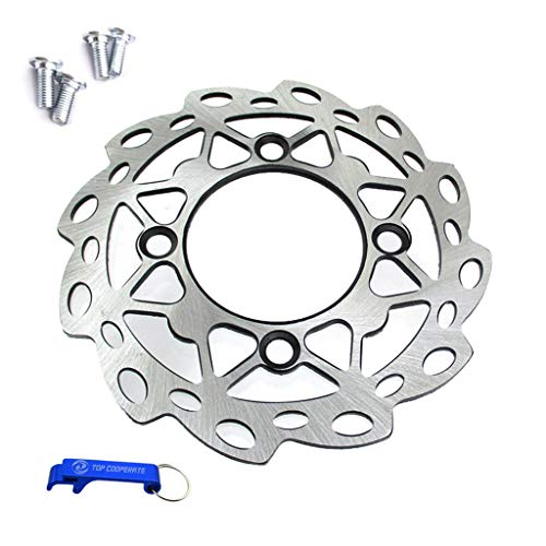 (TC-Motor 190mm Rear Brake Disc Disk Rotor With Mounting Screws For Chinese 50cc 110cc 125cc 140cc 150cc 160cc SDG Wheel Pit Dirt Bikes)
