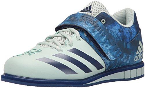 adidas Performance Men's Powerlift.3 Cross-Trainer Shoe, Vapour Green/Unity Ink/Vapour Green, 9.5 M US