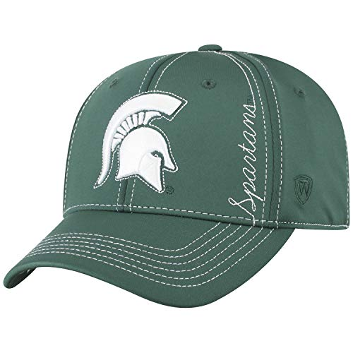 Top of the World Michigan State Spartans Official NCAA One Fit Learning Curve Hat Cap 450520