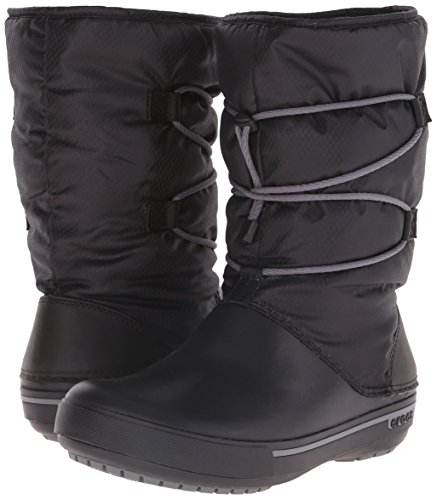 Boot Charcoal Forro Black Cinch Nero Botas W 5 Cband II Crocs con Mujer para SRIp8