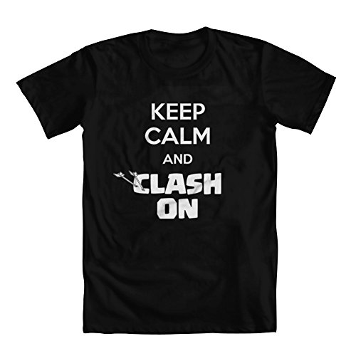 GEEK TEEZ Clash of Clans Inspired Keep Calm - Clash Of Clans T Shirt