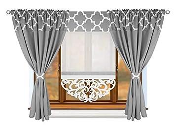 Fkl Schone Fertiggardine Fenstergardine Gardine Vorhang Panel Klee