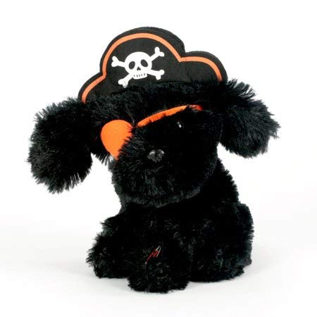 Way to Celebrate Plush Puppy Pirate Singing Addams Family Theme, Ready for Your Halloween Festivities, Ages 3