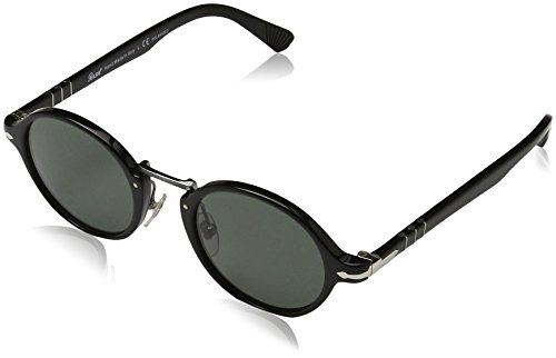 Persol Black Gafas Negro Greenpolarized Sol Unisex de Adulto rdYxqfrZ