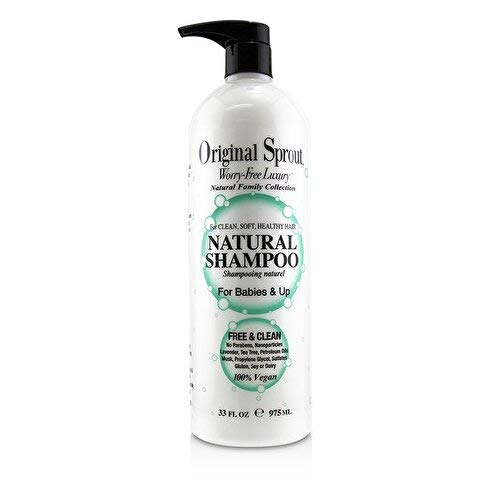 Original Sprout Natural Shampoo. Organic Sulfate Free Shampoo for All Natural Hair Care. 33 ounce. by Original Sprout