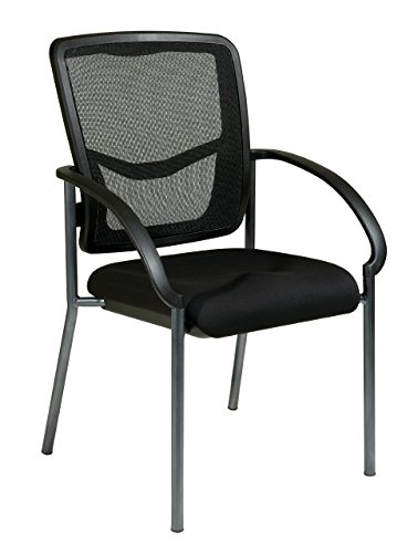 Office Star Breathable ProGrid Back and FreeFlex Coal Seat w