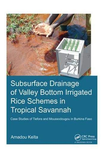 Subsurface Drainage of Valley Bottom Irrigated Rice Schemes in Tropical Savannah: Case Studies of Tiefora and Moussodougou in Burkina Faso (IHE Delft PhD Thesis - Rice Hematite