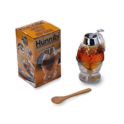 Syrup Dispenser Honey - Honey Dispenser Mechanical Trigger Release Honeycomb Design