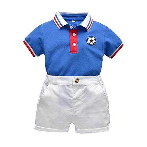- Shusuen_baby Boys Gentleman Outfits Suits Infant Short Sleeve Shirt+Shorts Pants Overalls Clothes Set