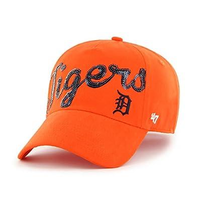 MLB Women's Sparkle Script Clean Up Hat