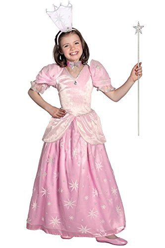 Princess Paradise The Wizard of Oz Glinda the Good Witch Pocket Princess Costume, Pink, (Halloween Costumes Good Witch)