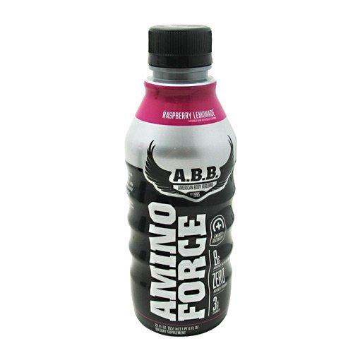 ABB Amino Force Raspberry Lemonade 12 (22 fl oz) bottles