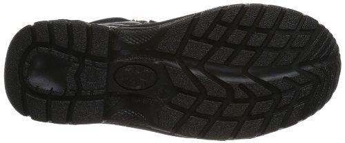 Maxguard ADAM 900116 - Zapatos de protección de cuero para unisex-adultos Negro (Schwarz (Schwarz))