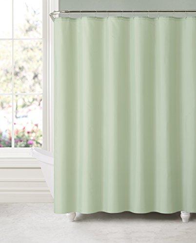 sage green shower curtain - 8