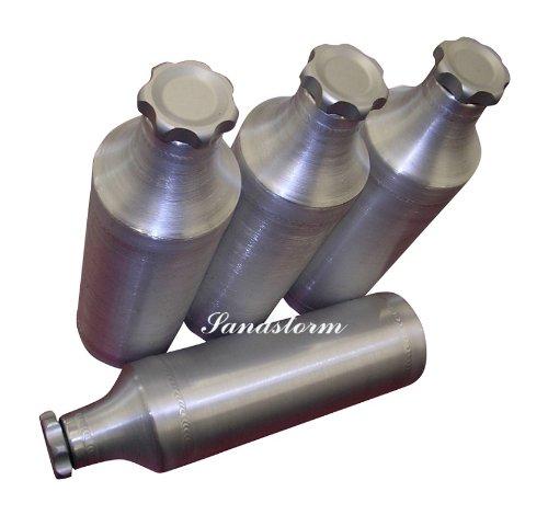 6x10 Spun Aluminum Fuel Bottle/ Tube - 1 Gallon - Made in the USA!