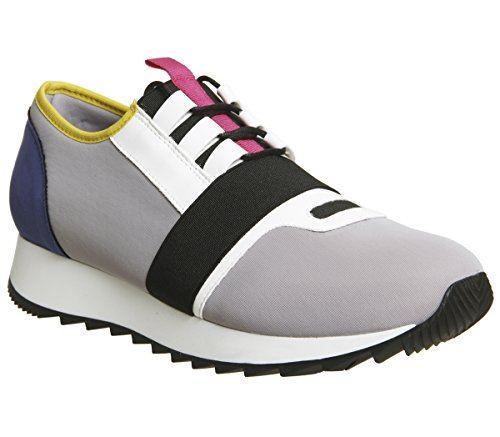 Office Action Neoprene Runners Grey Multi Colour 54F9Qw
