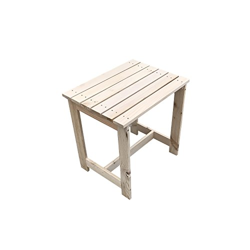 Cheap UHOM Wooden Coffee Side Table Patio End Beside Table Garden Furniture Outdoor/Indoor