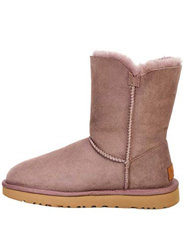 UGG Womens Bailey Button II Boot, Stormy Grey, Size 8 from UGG
