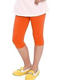 Orange Leggings Girl