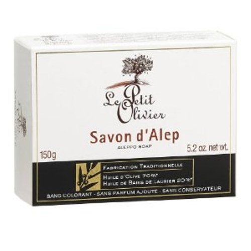 Aleppo Bar Soap 150g x 2 Pack Deal Saver by Le Petit Oliv...