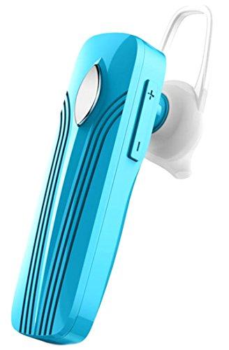 Stereo Bass Over-the-Ear Headphones Headset (Sky Blue) - 4