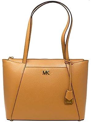 Michael Kors Women's Medium Maddie Leather Top-Handle Bag Tote