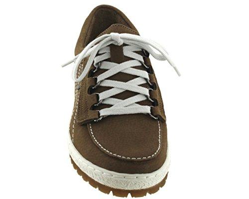 Piel Lisa Mujer De Cordones Zapatos Mephisto cIwtp8qxxX