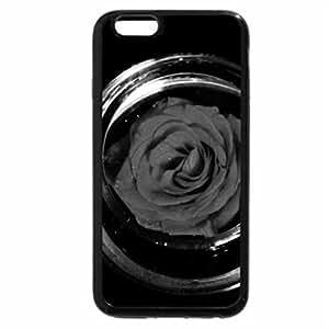 iPhone 6S Plus Case, iPhone 6 Plus Case (Black & White) - Rose Bowl