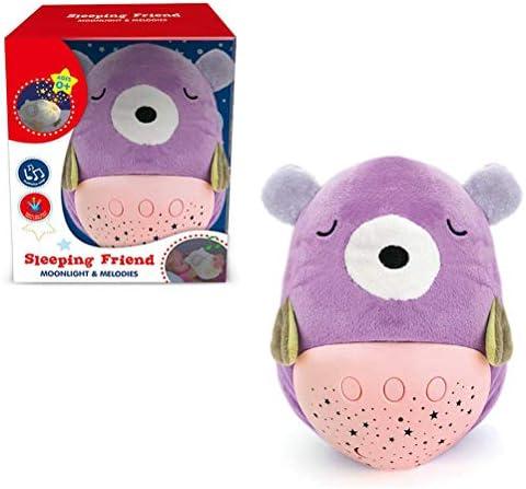 Kampre Baby Tier Plüsch Starlight Projektion Schnuller Weiches Licht Projektor Baby Schlaf Schnuller