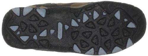 Hi-tec Kvinna Totala Terräng Mid Wp Vandring O001410 / 043/01 Textil Boot Honung / Mörkbrun / Blå