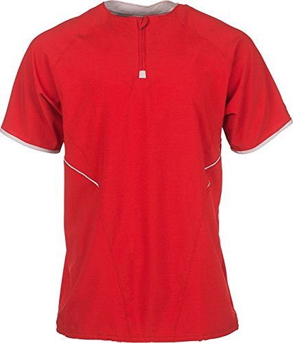 Russell Athletic Men's Short Sleeve Pullover (Athletic Uniforms Russell Baseball)