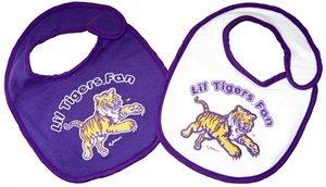 - LSU Tigers Baby Bibs: 2 Pack