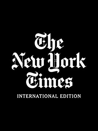 New york times international edition.