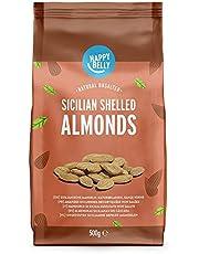 Amazon-merk: Happy Belly Siciliaanse amandelen, natuurlijke hele noten 2x500g