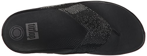 Fitflop Women's Crystall Sandal Black 3LRX9e2