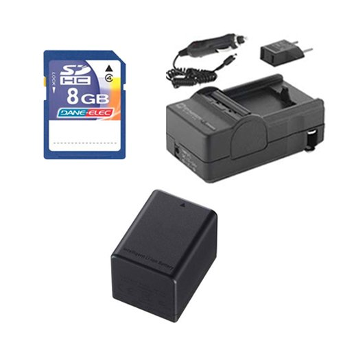 - Canon Legria HF R56 Camcorder Accessory Kit includes: SDBP727 Battery, SDM-1556 Charger, KSD48GB Memory Card