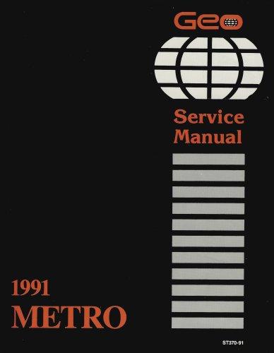 (1991 Geo Metro Service Manual)