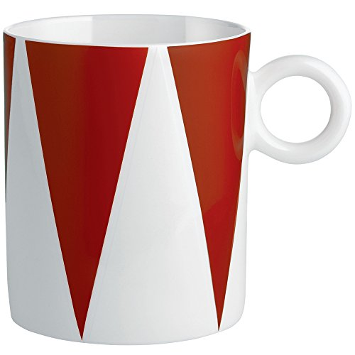 Alessi MW58 2 Decorative Circus,Mug, Multicolor