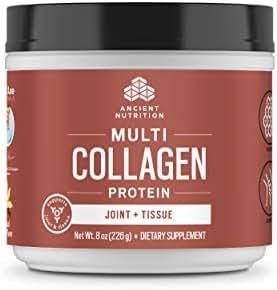 Ancient Nutrition Multi Collagen Protein Powder, Joint + Tissue Support - 20 Serving