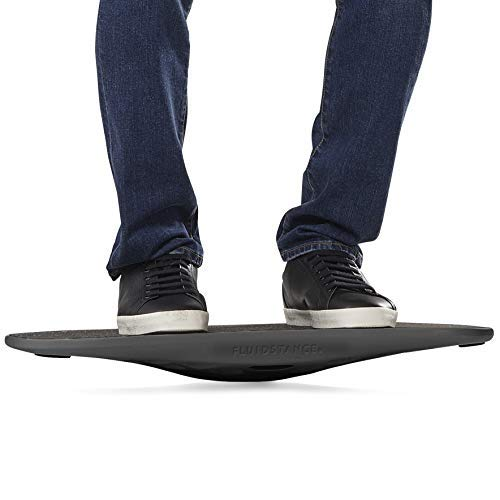 Balance Board for Standing Desk | Wobble Board for Under Desk Exercise by FluidStance