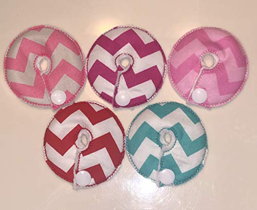 Cutie Button Pads G-tube 5 Pack Pads (Reusable Girls 2)