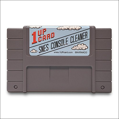 1 Up Card Console Cleaner For Super Nintendo SNES System (Nintendo Super Nes Console)