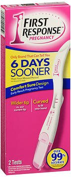 First Response Early Result Pregnancy Tests - 2 ct, Pack of 6