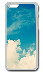 Blue Skies Personalized Custom iPhone 6 Case Cover - PC Transparent