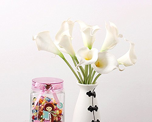 10-Pack-Latex-Real-Touch-Lovely-Artificial-Calla-Lily-Wedding-Bouquet-Flower-Bouquets