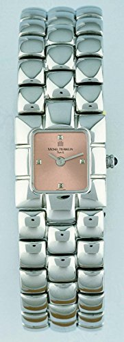 Michel Herbelin 17080-B18 Ladies Silver Steel Bracelet Watch