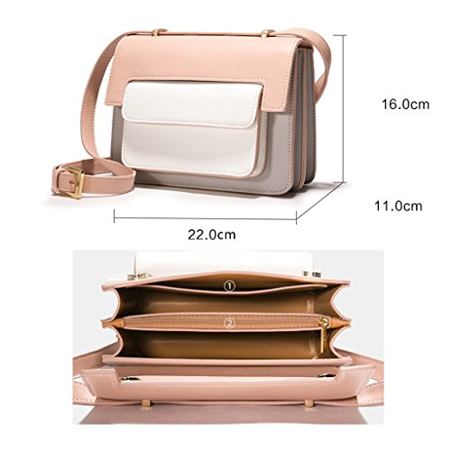 and simple repellent bag women's Korean square box body shoulder of water bag Personalized cross the elegant XiaYuan of version A4vfx